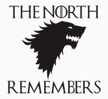 Game Of Thrones - The North Remembers by JcDesign