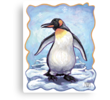 Animal Parade Penguin Canvas Print