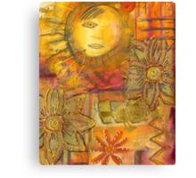 Vigilant Sun - FINAL Canvas Print