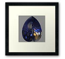 Shades of Midnight Framed Print