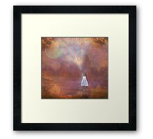 Off To Fairyland (By Way Of Fairyloons) Framed Print