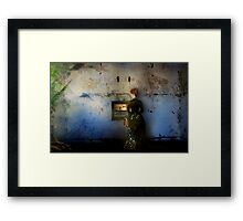 Through The Past To The Future Framed Print