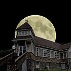 Supermoon rising by Susan S. Kline