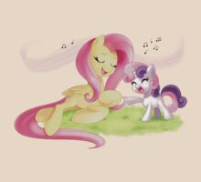 Fluttershy & Sweetie Belle Singing by Radiogenicsky
