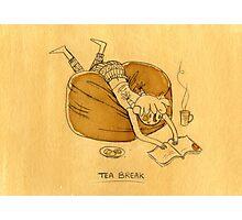 Tea Break Photographic Print