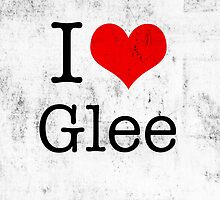 I Love Glee by angeliana