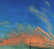 ©HCTS Tower Cloudscape Textured by OmarHernandez