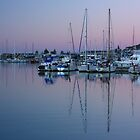 Dusk over the Historic Ahuriri Harbour by SeeOneSoul