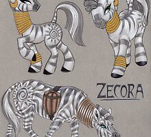 Zecora Doodles by Mayra Boyle