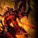 Daemon of Khorne by FailedDEATH666