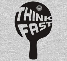 Ping Pong Think Fast by House Of Flo
