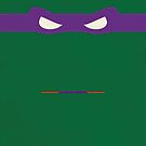 Purple Ninja Turtles Donatello by thejoyker1986