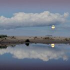 Super Moon at Marion Bay (ii) by Kate Caston