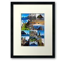 Skellig Islands Framed Print