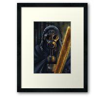 Steampunk Vader Framed Print