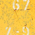 Trashed, scratched, rusted and dented - Yellow by artdeluxe