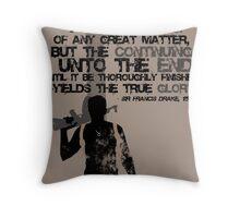 Sir Francis Drake Throw Pillow
