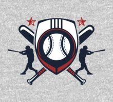 baseball player logo by Cheesybee