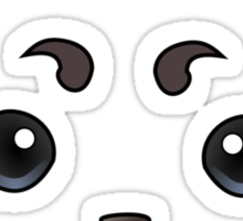 Anime - Sadaharu Face Sticker