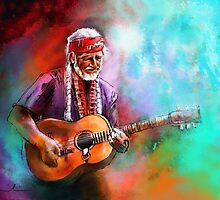 Willie Nelson 01 by Goodaboom