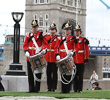 The Royal Anglian Band playing at City Hall by Keith Larby