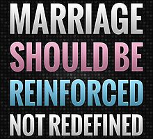 Marriage Should Be Reinforced by morningdance