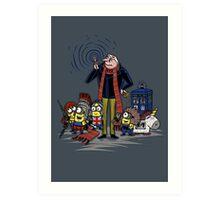 Doctor Gru Art Print