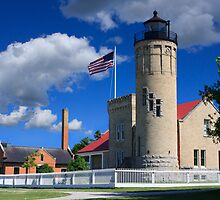 Old Mackinac Point Lighthouse by DArthurBrown