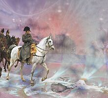 Napoleon's retreat from Moscow. by art-ZeST