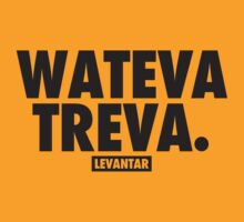 Wateva Treva (Black) by Levantar