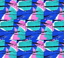 90s Pack- Beach Print by racPOP Cases