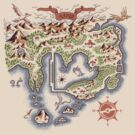 Kanto Map by MeleeNinja