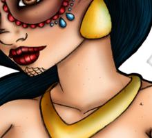 Day of the Dead Jasmine - Aladdin Sticker