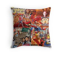 A Fractured Culture Throw Pillow