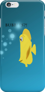 Finding nemo bubbles fish iphone case iphone cases for Bubbles fish finding nemo