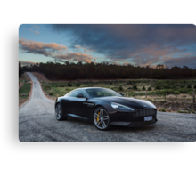 Aston Martin DB9 Canvas Print