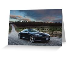 Aston Martin DB9 Greeting Card