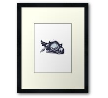 Minimalist Meta Knight from Super Smash Bros. Brawl Framed Print