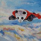 Panda Superhero by Michael Creese