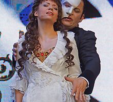 The Phantom Of The Opera at West End Live London by Keith Larby