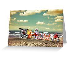 Cool Spot retro pixel art Greeting Card