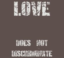 Love does not Discriminate by veganese