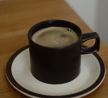 Coffee in a 1970s cup by wittieb