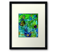 Perfect Petals and Spring Showers Framed Print