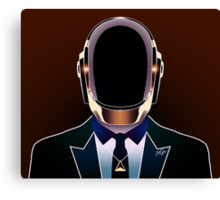 Daft Portrait 2 Canvas Print