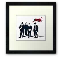 News Team Framed Print