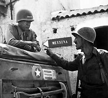 General Patton In Sicily  by warishellstore