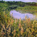 Goldenrod at Graham Creek by Lynda Earley