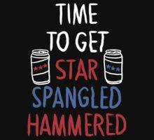 Star Spangled Hammered (Dark shirt) by Look Human