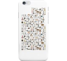Tools and Utensils. Good Old Days. iPhone Case/Skin